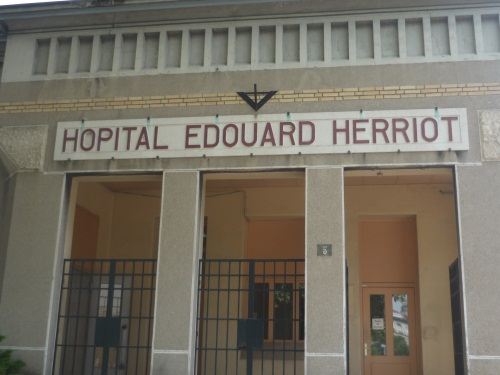 Hôpital Edouard Herriot. Photo LyonMag.com