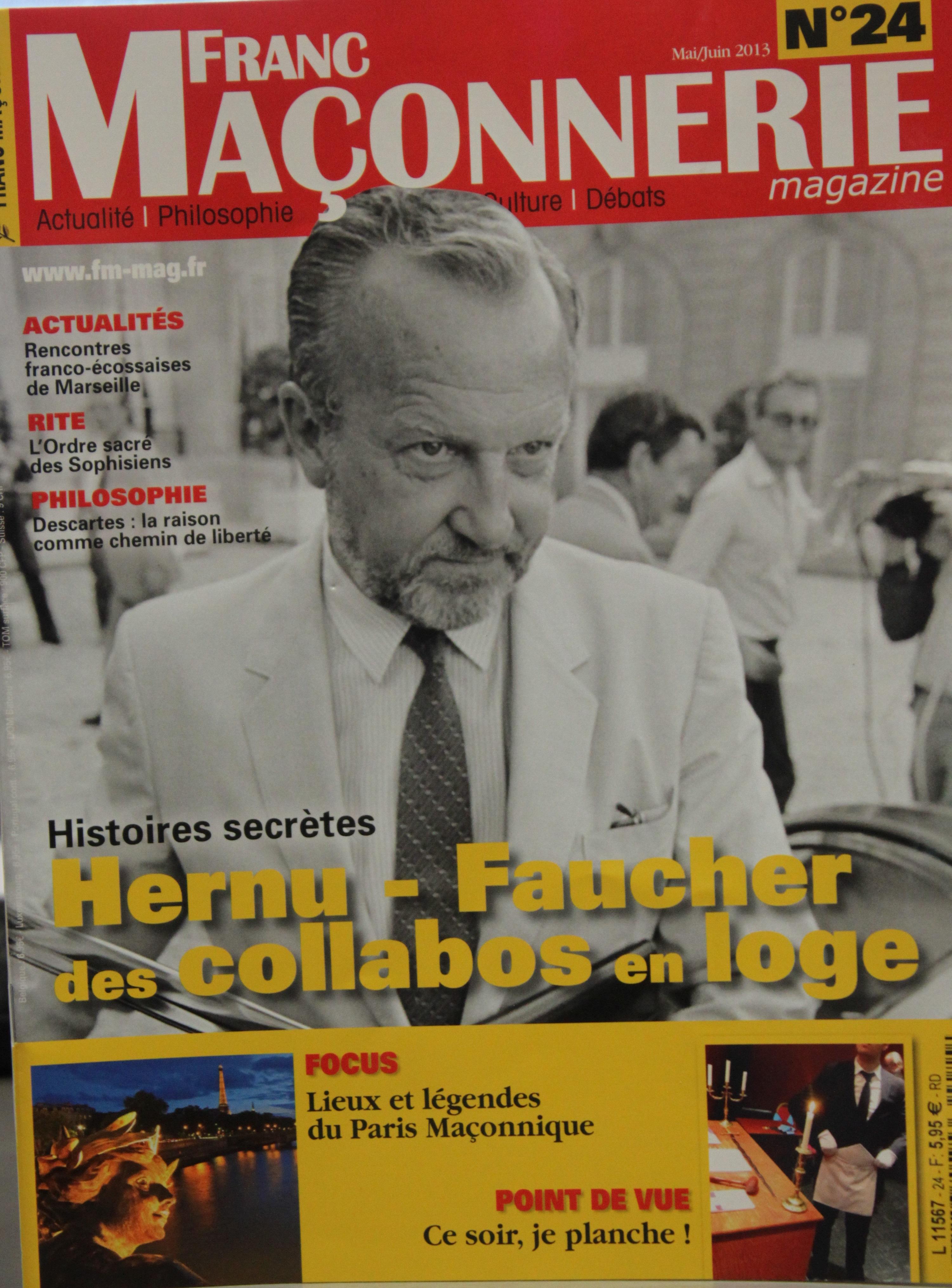 La Une du magazine
