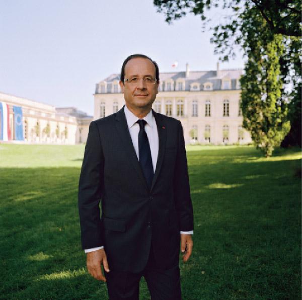 La photo officielle de François Hollande réalisée par le Caladois Raymond Depardon