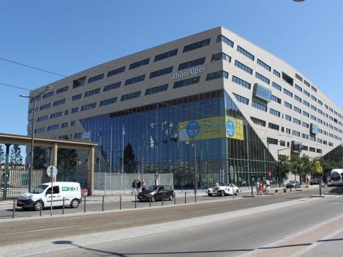 L'Hôtel de Région, situé cours Charlemagne à Lyon - LyonMag.com