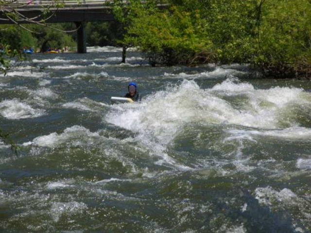 Les activités ont repris partiellement à Saint-Pierre-de-Bœuf, après un accident d'hydrospeed