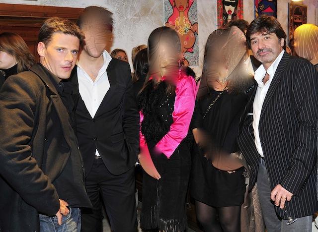 David Metaxas (à gauche), aux côtés de l'ex numéro 2 de la PJ lyonnaise - Lyonmag