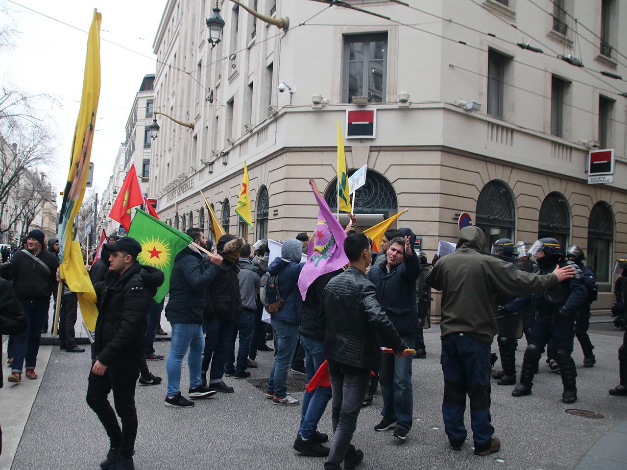 Les forces de l'ordre ont empêché la manifestation de dégénérer - LyonMag
