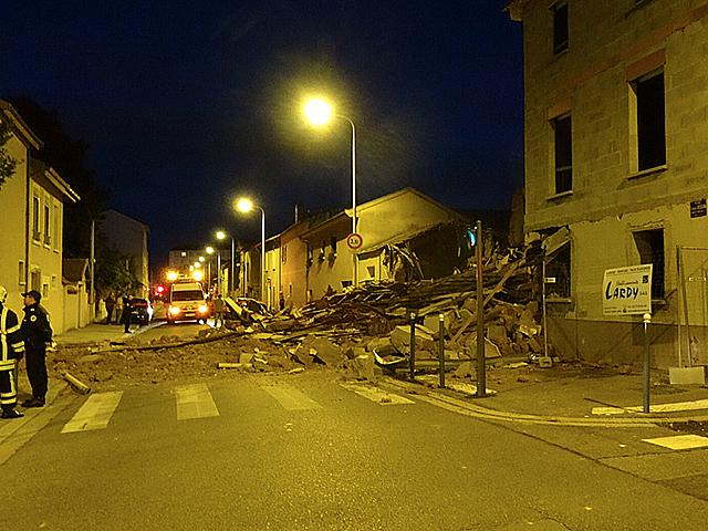 Lyon : une maison de deux étages s'effondre dans le 3e arrondissement