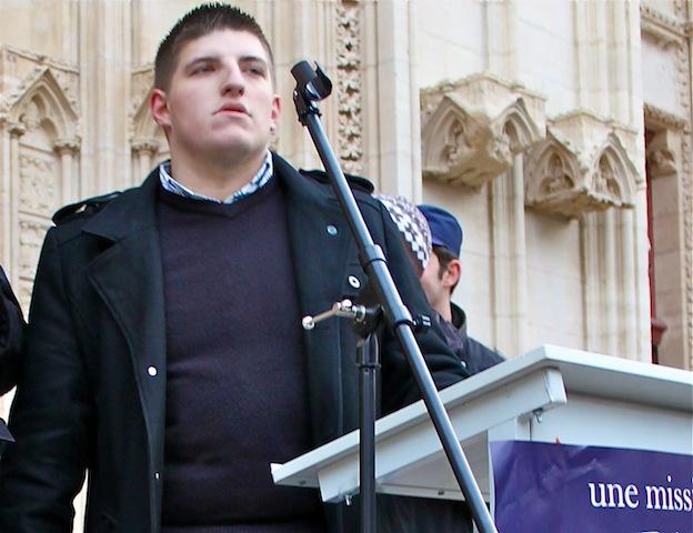 L'exclu du FN Alexandre Gabriac refait parler de lui
