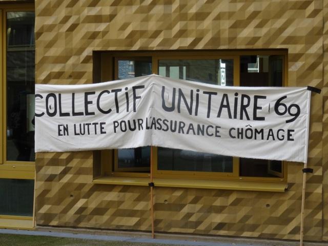 Lyon : le Pôle Emploi Confluence à nouveau envahi par le collectif unitaire 69