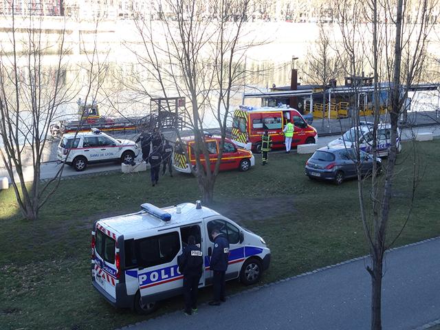 Lyon : un corps repêché ce samedi matin le long des Berges du Rhône