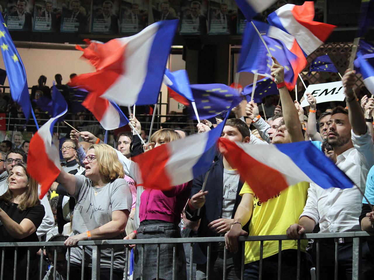 Le public de Macron - LyonMag