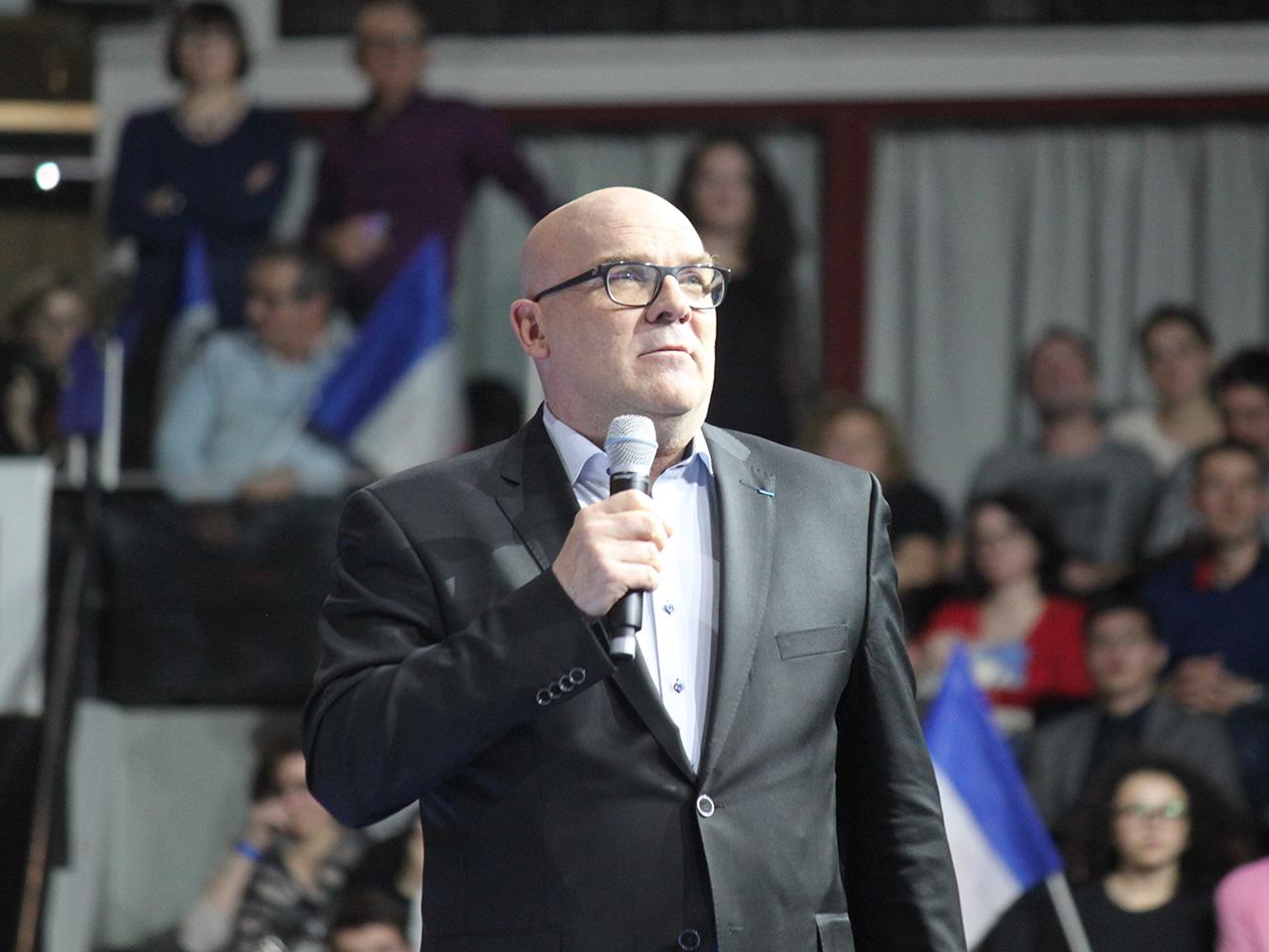 Bruno Bonnell, monsieur robot et référent de Macron dans le Rhône, a ouvert le bal - LyonMag