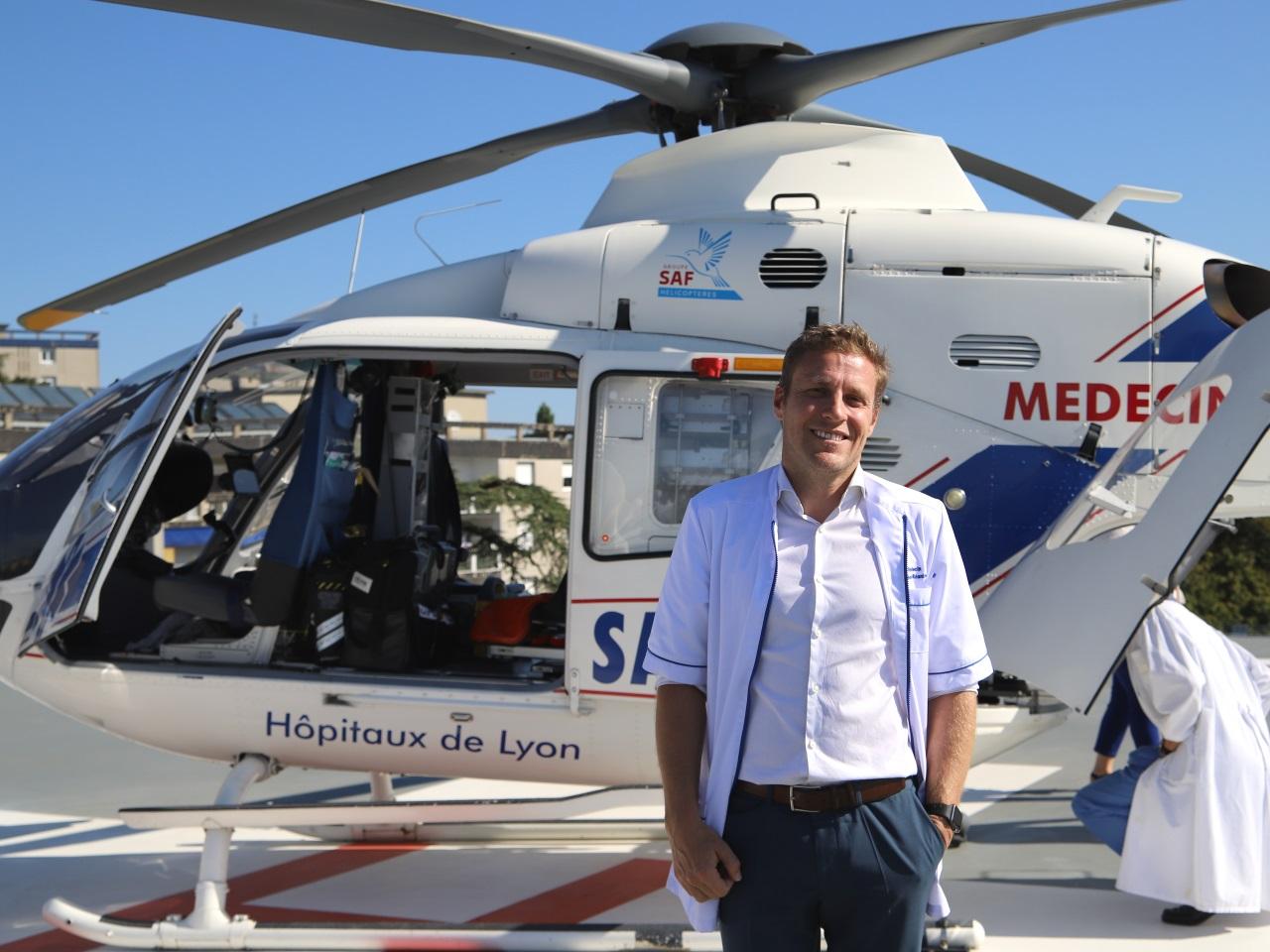 Alexandre Vuilliez, anesthésiste et réanimateur - LyonMag