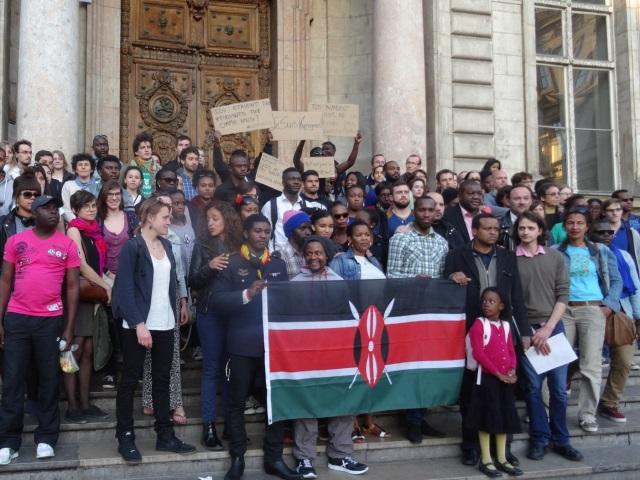 Lyon : 150 personnes pour rendre hommage aux victimes de l'attentat au Kenya