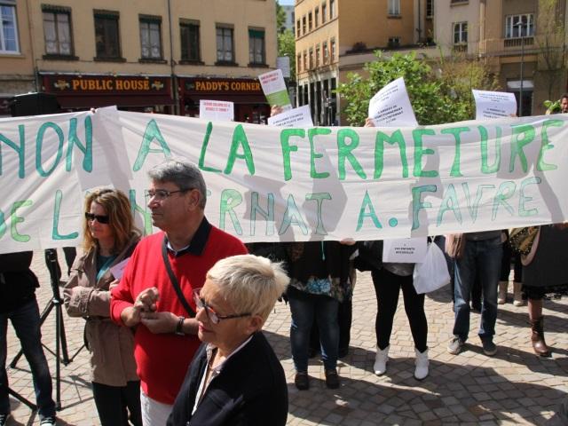 Le personnel de l'internat Favre a perturbé la cérémonie - LyonMag