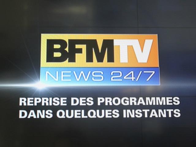 BFM TV et RMC en rade durant près d'une heure ce jeudi matin