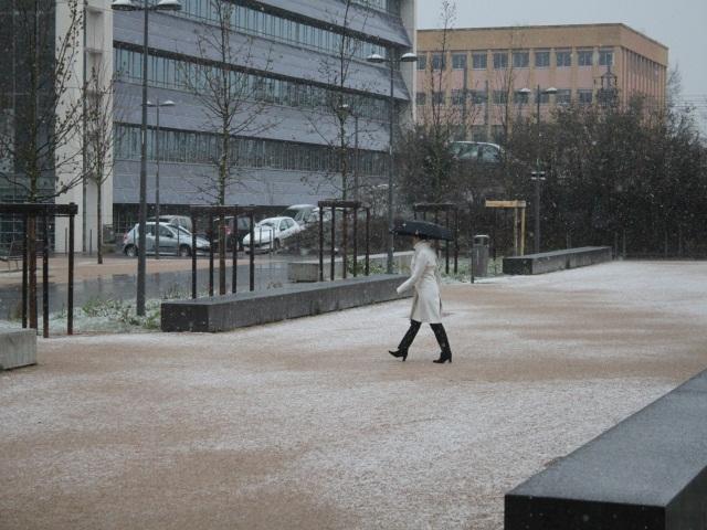 Météo : la neige va s'intaller à Lyon