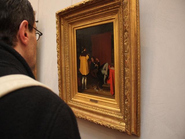 'L'Arétin et l'envoyé de Charles Quint' : le fameux tableau enfin présenté au musée des Beaux-Arts