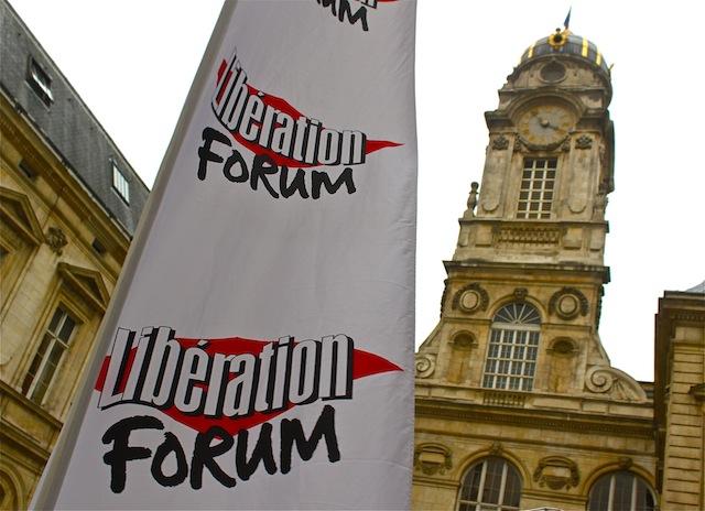 20 000 visiteurs pour le forum Libération de Lyon