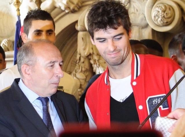"""Gérard Collomb """"aurait aimé"""" voir Gourcuff à l'Euro"""