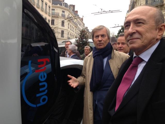 Lyon : le système d'autopartage Bluely double son offre et intègre des Twizy