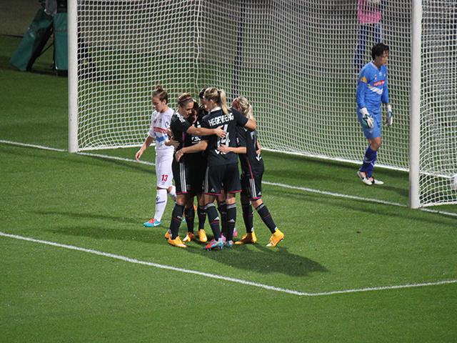 L'OL féminin n'a fait qu'une bouchée de Brescia (9-0)