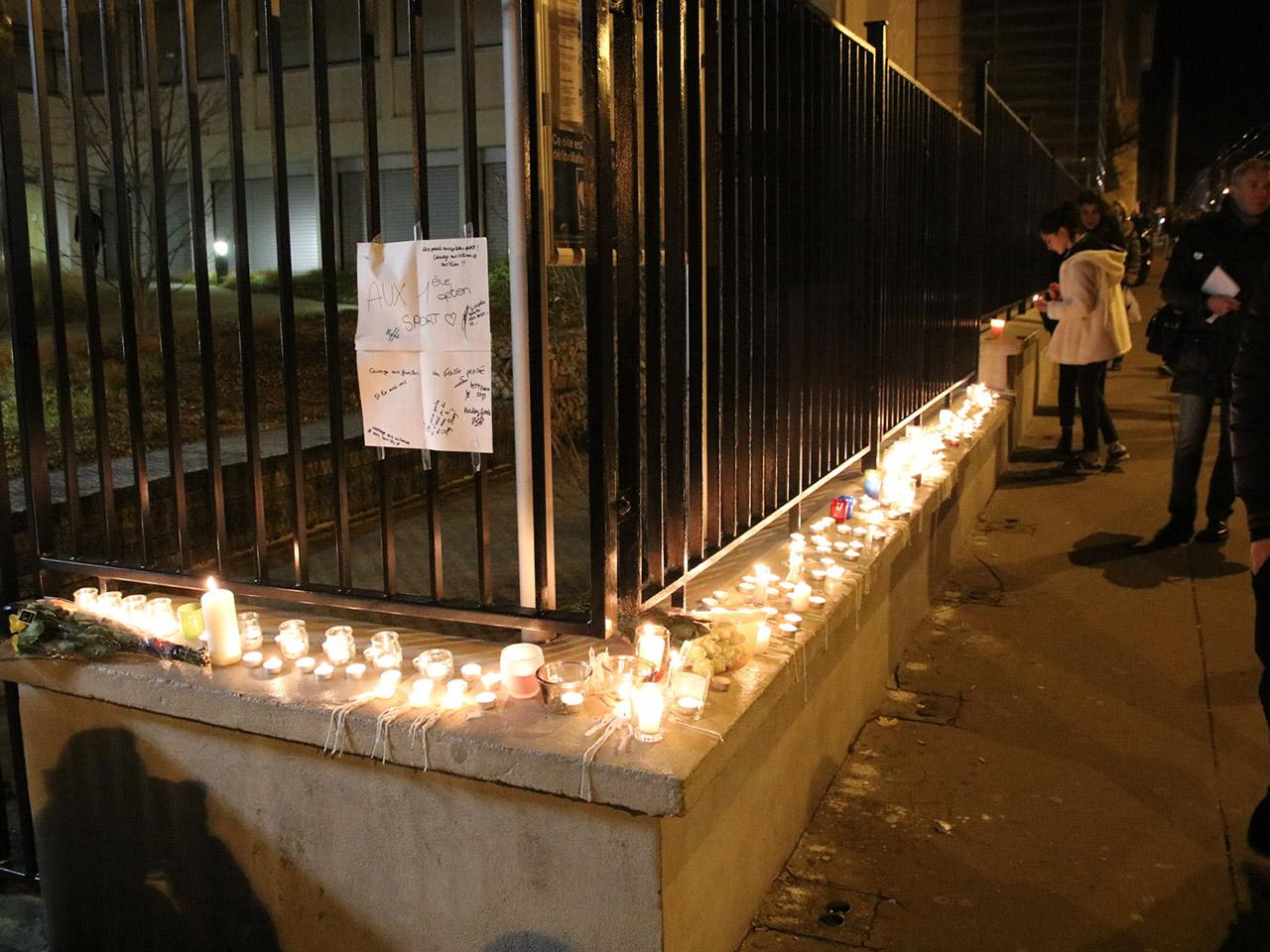 Le lycée Saint-Exupéry en deuil ce mercredi soir - LyonMag