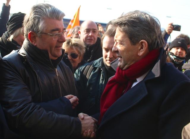 Le communiste André Gerin appelle à voter François Hollande