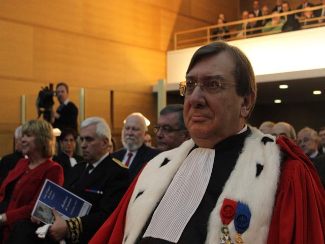 Jacques Beaume est le nouveau patron de la justice lyonnaise