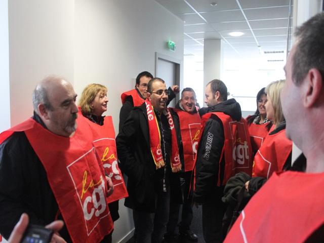 Lyon : les salariés de Sodexo font du grabuge