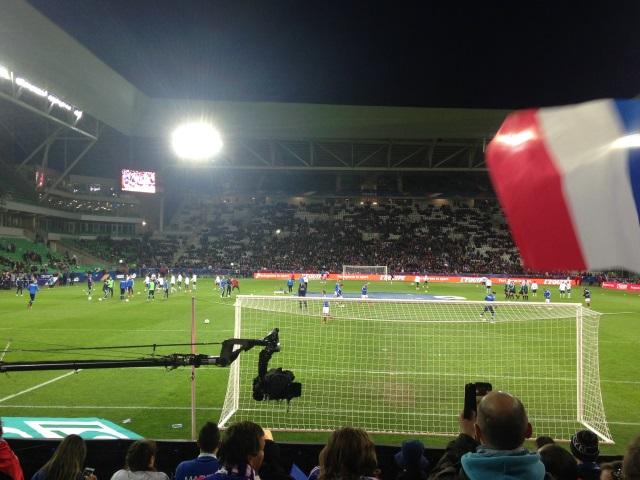 Sifflets, but, blessure : drôle de soirée pour les Lyonnais de l'Equipe de France