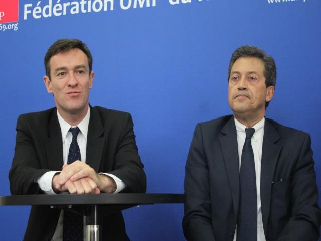 """Municipales à Lyon : Fenech adoube Havard """"le tenace"""""""