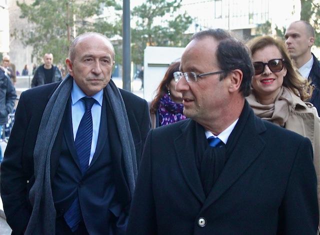Gérard Collomb et François Hollande à Lyon - LyonMag