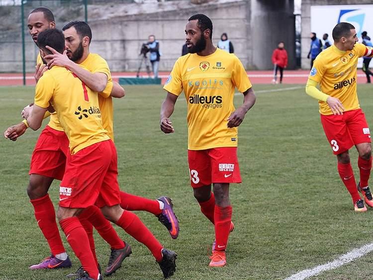 A 10 contre 11, l'AS Duchère a marqué son territoire en Corse (0-1)