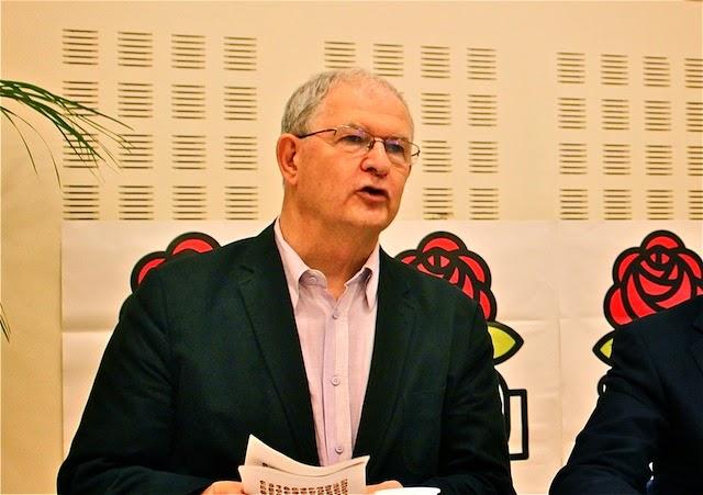 Municipales : l'ancien premier secrétaire fédéral Jacky Darne va quitter le PS
