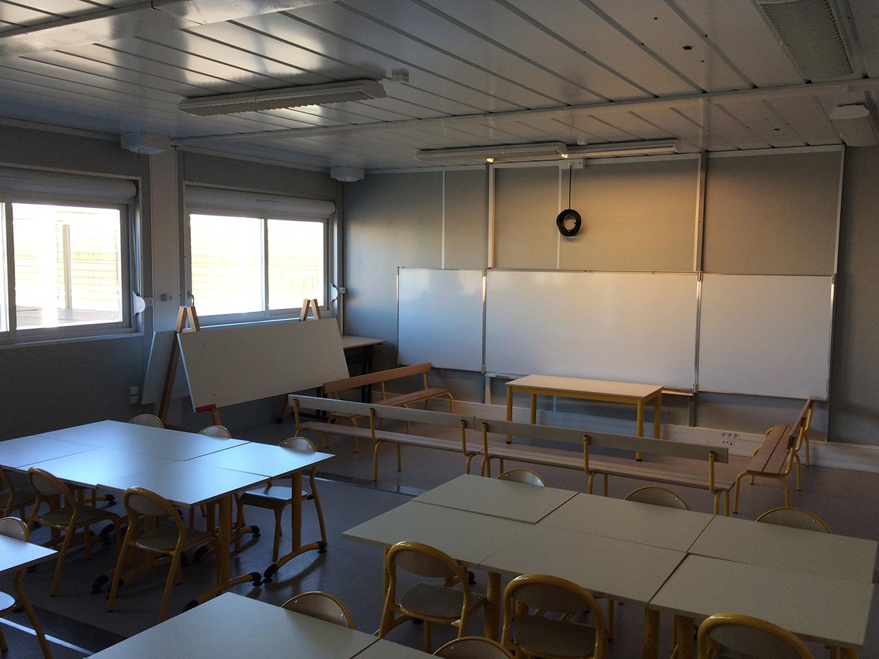 L'une des salles de classe de maternelle - LyonMag