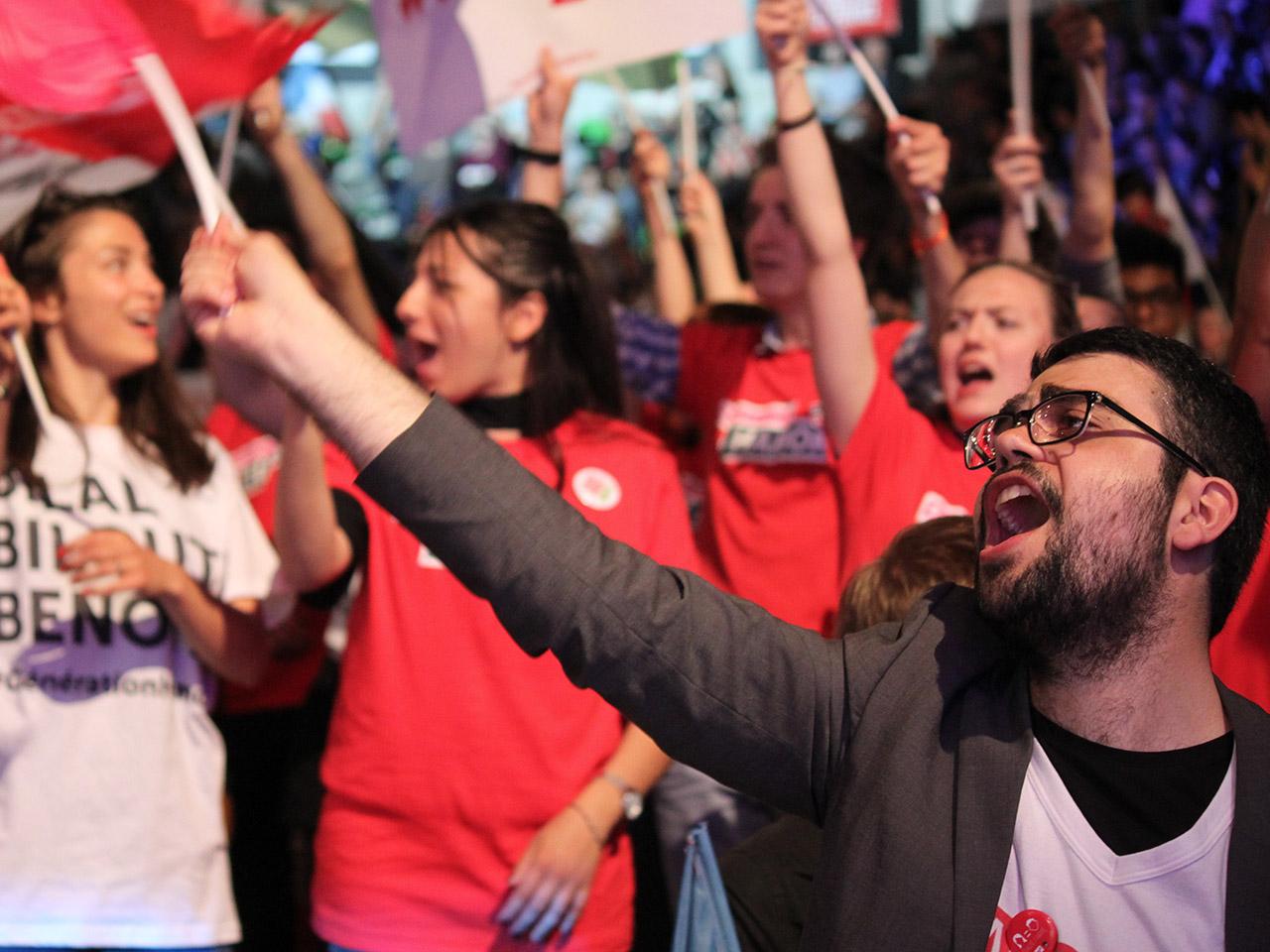 Les jeunes militants socialistes ont donné de la voix - LyonMag