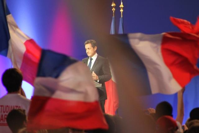 """Sarkozy à Lyon : """"Hollande est un cynique"""""""
