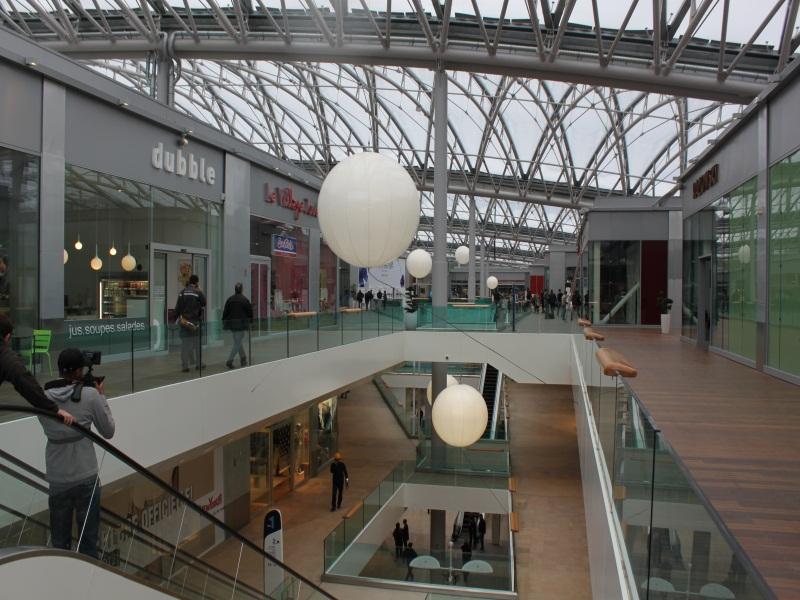 Google cartographie les centres commerciaux de Lyon