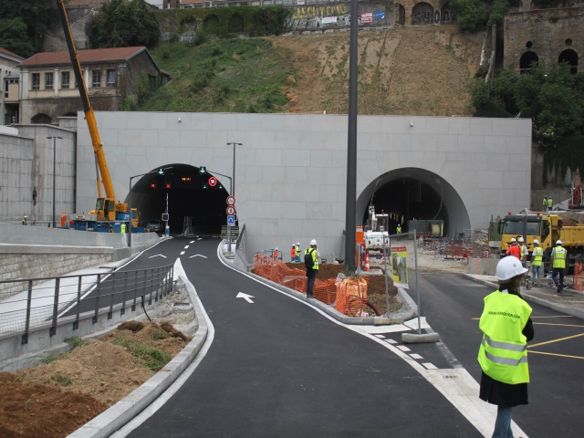 Tunnel de la Croix-Rousse : J-4 pour les automobilistes, les cyclistes patientent encore