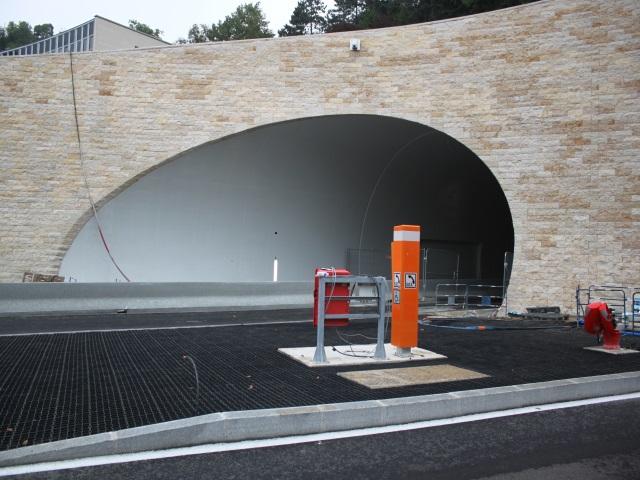 Le tunnel de la Croix-Rousse côté Saône - LyonMag