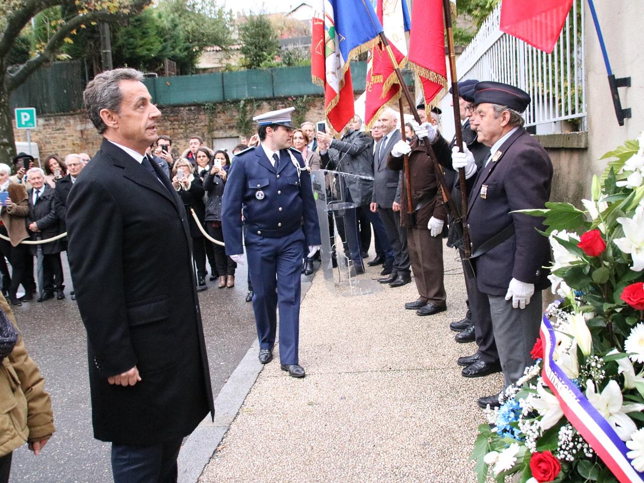 A Caluire où Nicolas Sarkozy a rendu un hommage à Jean Moulin et au Général De Gaulle - LyonMag