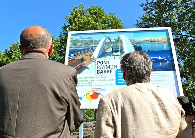 Pont Raymond-Barre : le problème des castors finalement minime