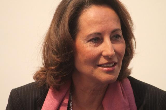 Le réconfort du maire de Lyon à Ségolène Royal