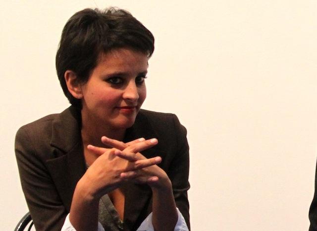 Najat Vallaud-Belkacem disponible pour le futur gouvernement Ayrault