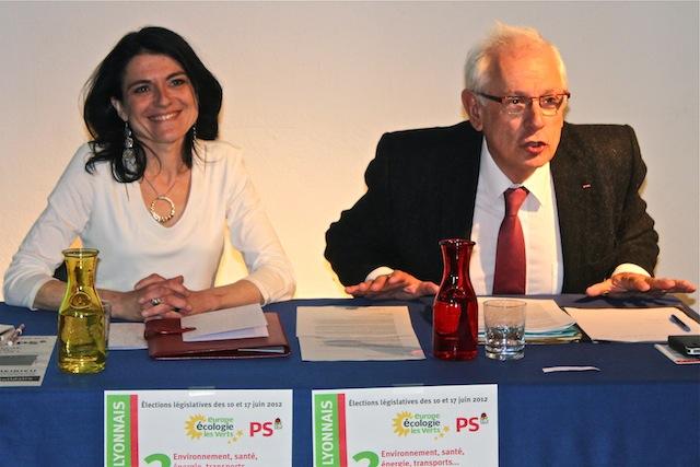 """Législatives : le """"système"""" Collomb reste en travers de la gorge de Nathalie Perrin-Gilbert"""