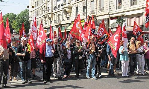 Un 1er mai très politique à Lyon mardi