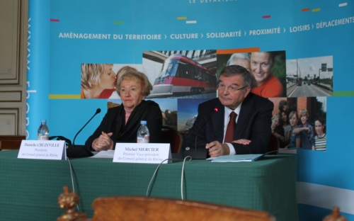 Le Rhône passera de 54 à 13 cantons en 2015