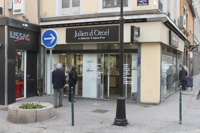 Lyon : une bijouterie braquée mercredi matin à la Croix-Rousse