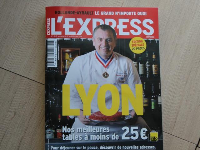 Lyon : les bonnes tables de l'Express pour moins de 25 euros