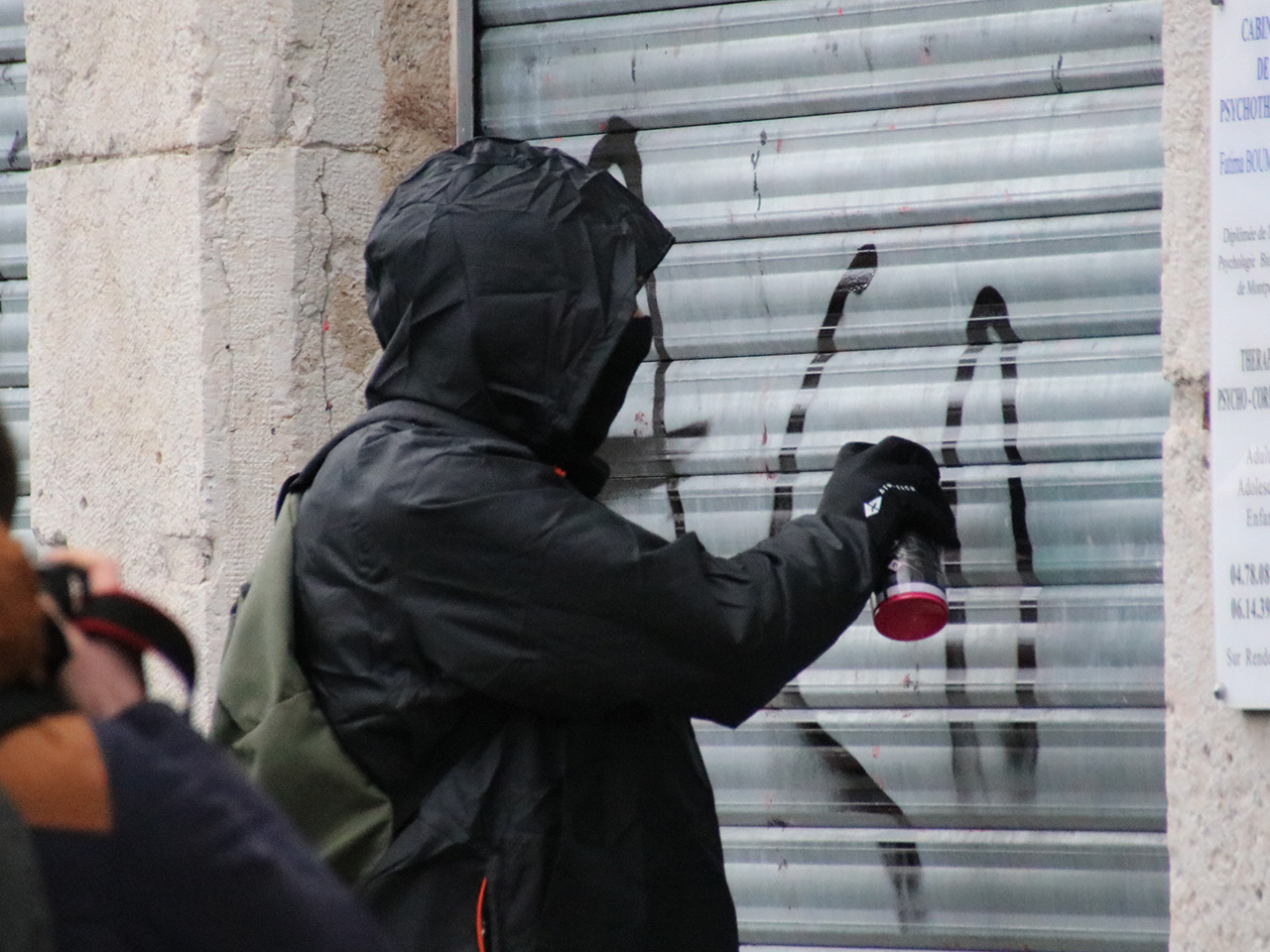 Les casseurs à la Guillotière samedi - LyonMag
