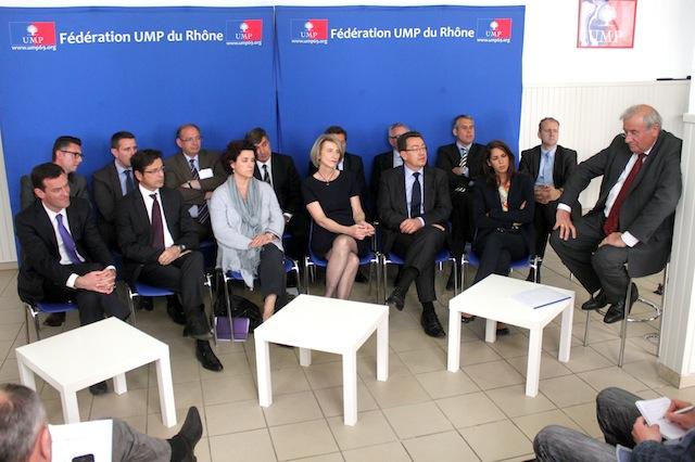 "Législatives : l'UMP du Rhône ""va faire campagne à mort"""