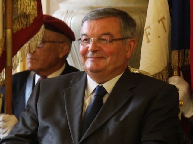 Michel Mercier, invité d'honneur du dîner du Crif Rhône-Alpes
